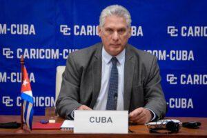 Der kubanische Präsident hob die Grundsätze hervor, auf denen die Beziehungen zwischen Kuba und den karibischen Staaten beruhen. Foto: Estudios Revolución