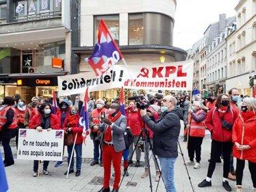 Protest bei H&M. Foto: ZLV