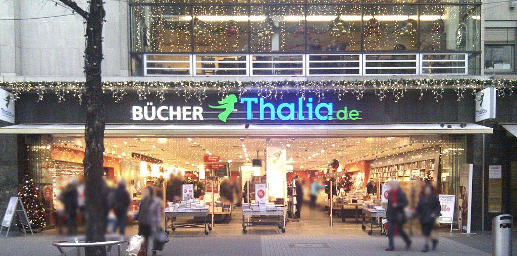 Thalia-Filiale in Mannheim. Wegavision, CC0, via Wikimedia Commons