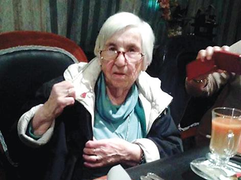 Esther Bejarano. Foto: ZLV