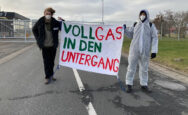 Blockade in Brunsbüttel. Foto: Ende Gelände (Öffentliche Domäne)
