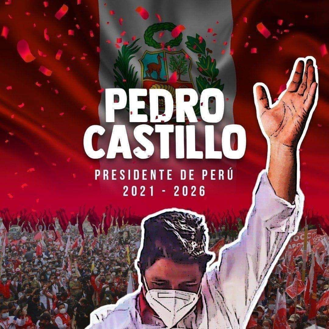 Pedro Castillo Presidente