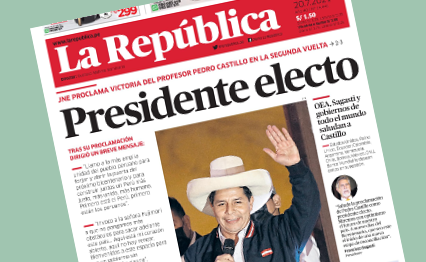 La República, 20. Juli 2021