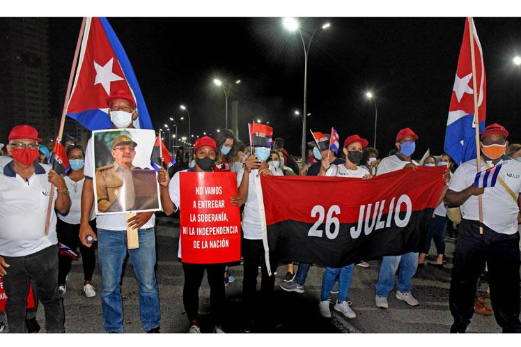 Solidarität mit der kubanischen Revolution