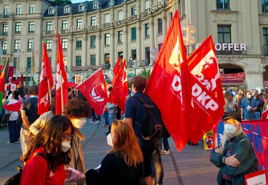 Der Antikriegstag in München (Foto: SDAJ München)