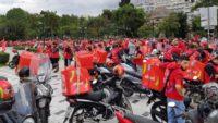 Sieg der EFood-Arbeiter nach Streik