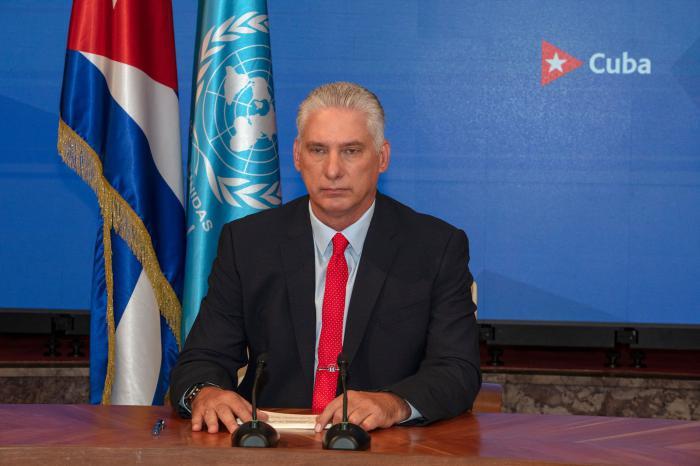 Kubas Präsident Miguel Mario Díaz-Canel Bermúdez. Foto: Granma